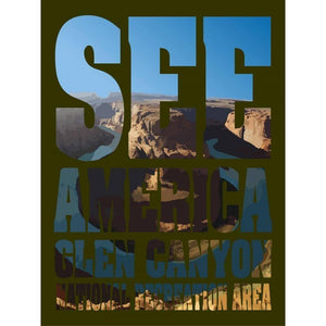 "Glen Canyon National Recreation Area by Isaac Barrocas 18"" by 24"" Print / Unframed Print See America"