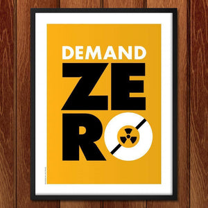 "Global Zero 3 by Luis Prado 18"" by 24"" Print / Framed Print Demand Zero"