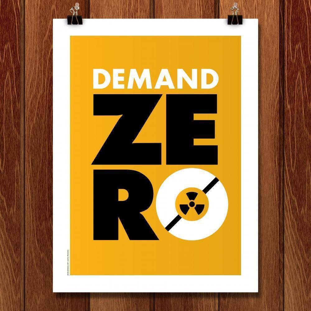 "Global Zero 3 by Luis Prado 18"" by 24"" Print / Unframed Print Demand Zero"