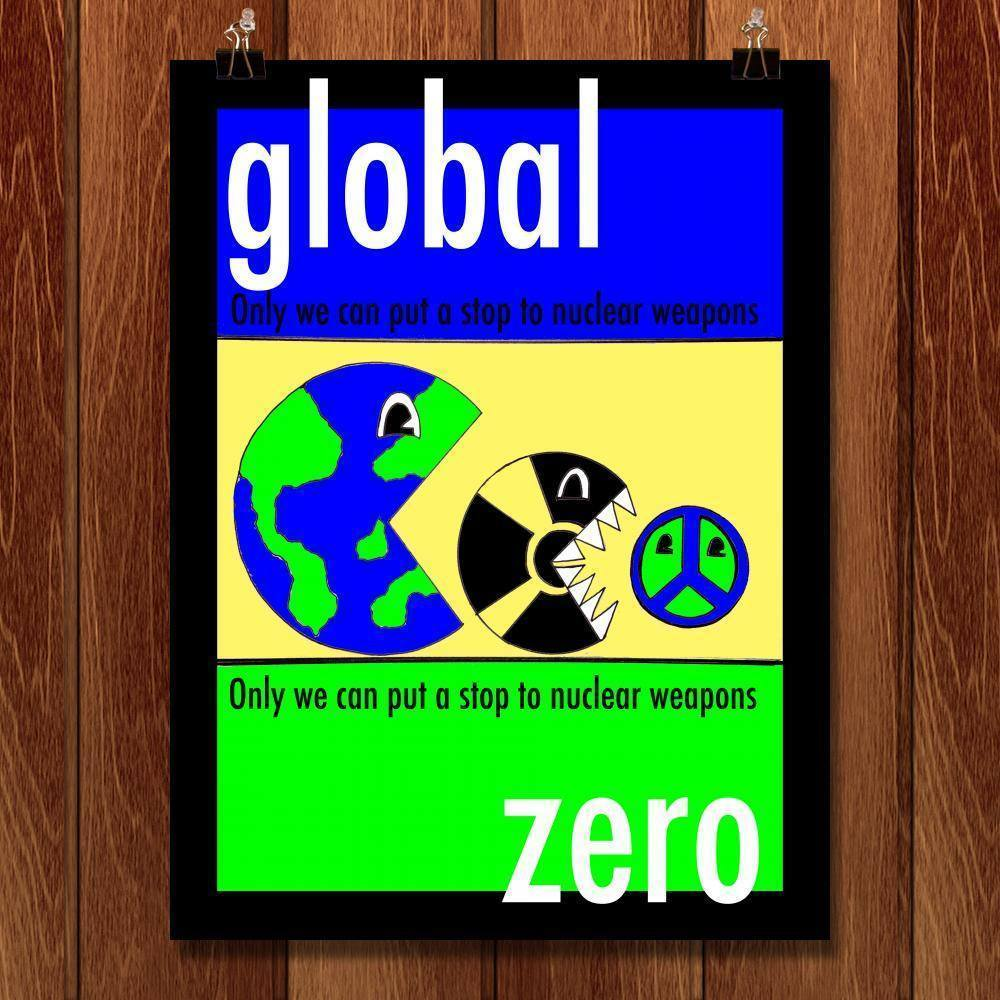 "Global Zero by Joshua Sierra 18"" by 24"" Print / Unframed Print Demand Zero"
