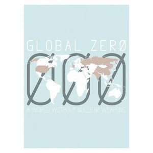 "Global Zero by Shane Henderson 18"" by 24"" Print / Unframed Print Demand Zero"