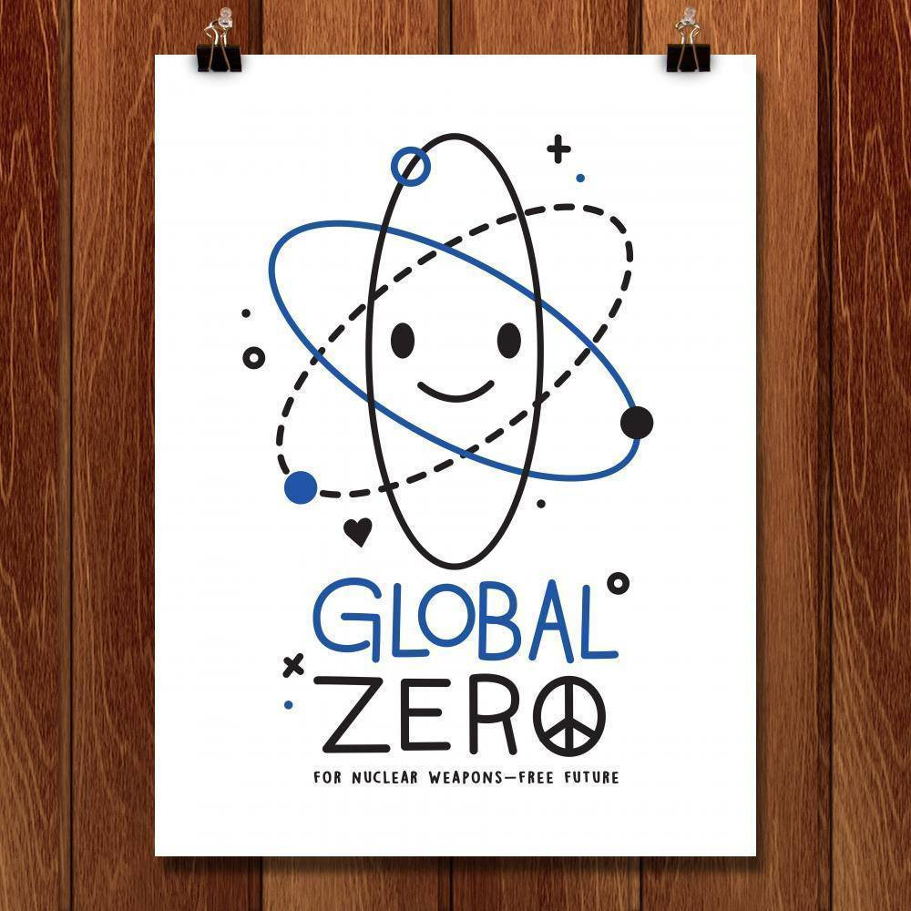 "Global Zero by Victoria Fernandez 18"" by 24"" Print / Unframed Print Demand Zero"