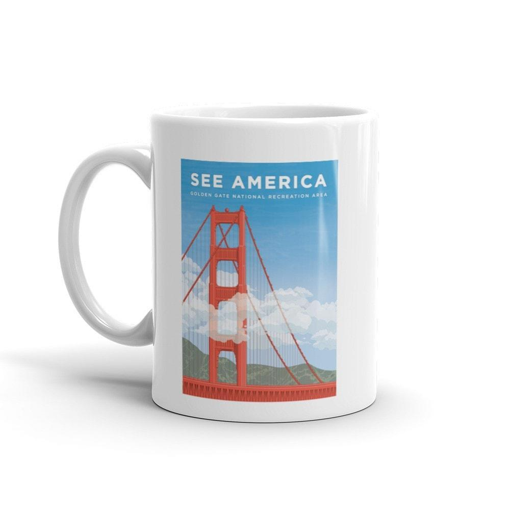 Golden Gate National Recreation Area Mug by David Hays 15oz Mug See America