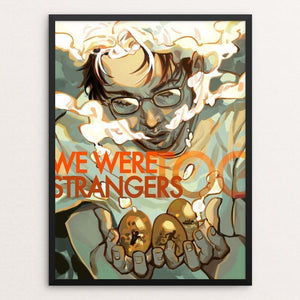 "Golden Wishes by Lina Ngo 12"" by 16"" Print / Framed Print We Were Strangers Too"