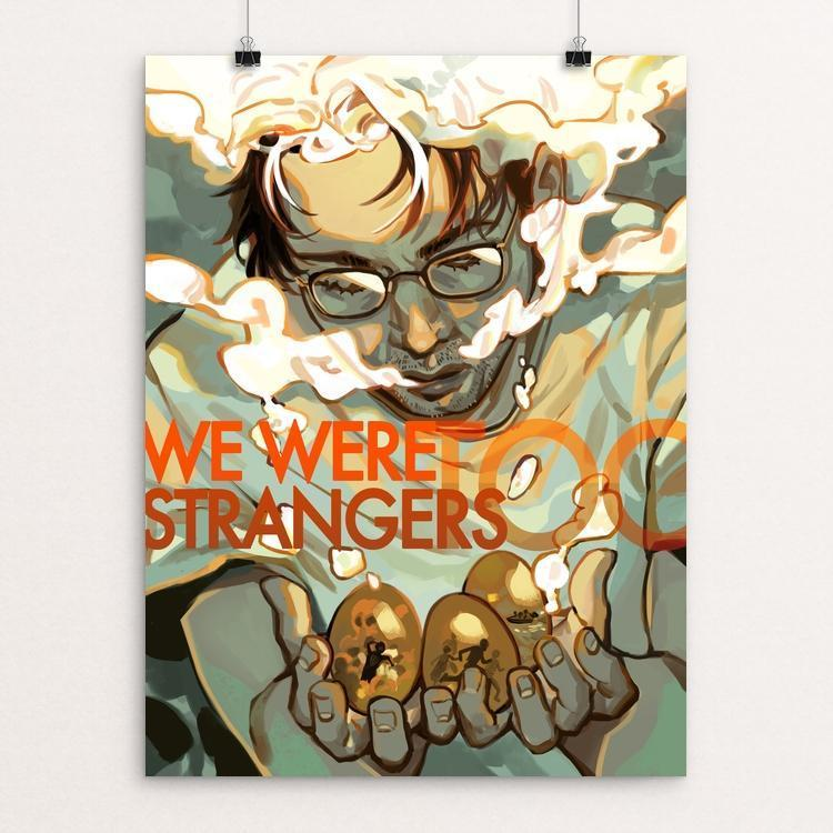 "Golden Wishes by Lina Ngo 12"" by 16"" Print / Unframed Print We Were Strangers Too"
