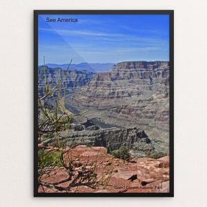 "Grand Canyon National Park 2 by Mac Titmus 12"" by 16"" Print / Framed Print See America"