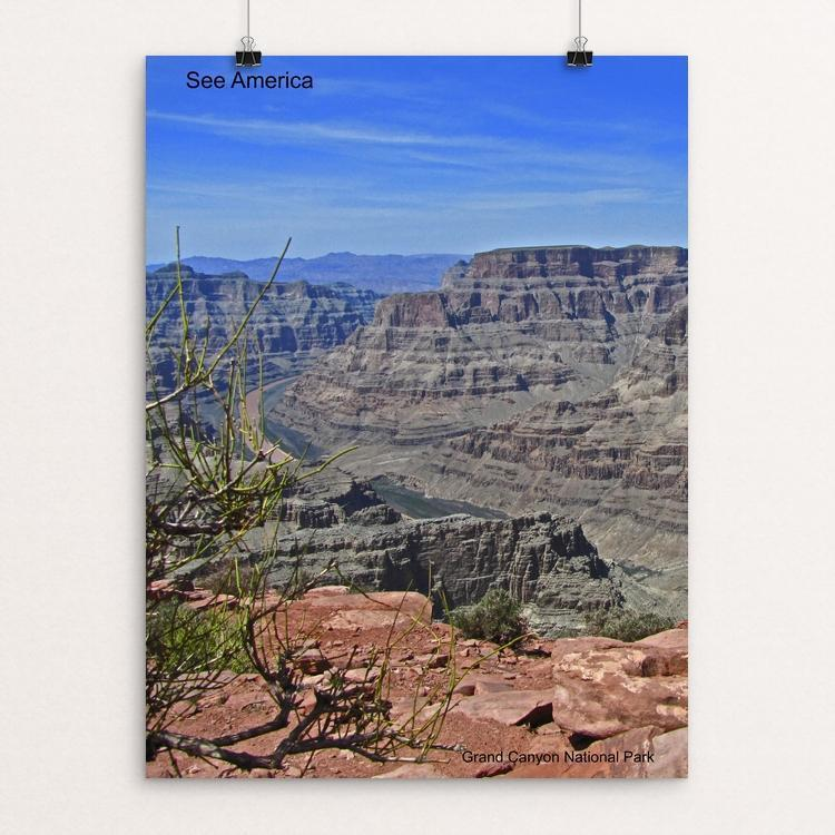 "Grand Canyon National Park 2 by Mac Titmus 12"" by 16"" Print / Unframed Print See America"