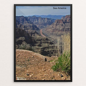 "Grand Canyon National Park 3 by Mac Titmus 12"" by 16"" Print / Framed Print See America"