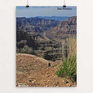 "Grand Canyon National Park 3 by Mac Titmus 12"" by 16"" Print / Unframed Print See America"