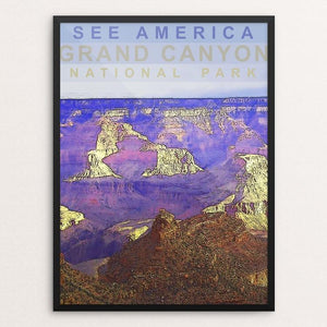 "Grand Canyon National Park by Amanda Pulawski 12"" by 16"" Print / Framed Print See America"
