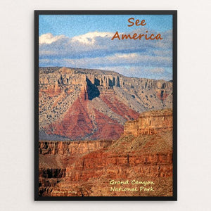 "Grand Canyon National Park by Anthony Chiffolo 12"" by 16"" Print / Framed Print See America"