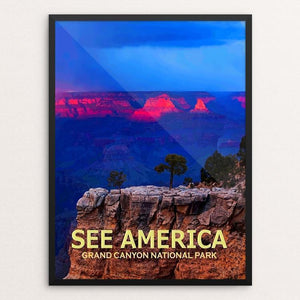 "Grand Canyon National Park by Ed Gleichman 12"" by 16"" Print / Framed Print See America"