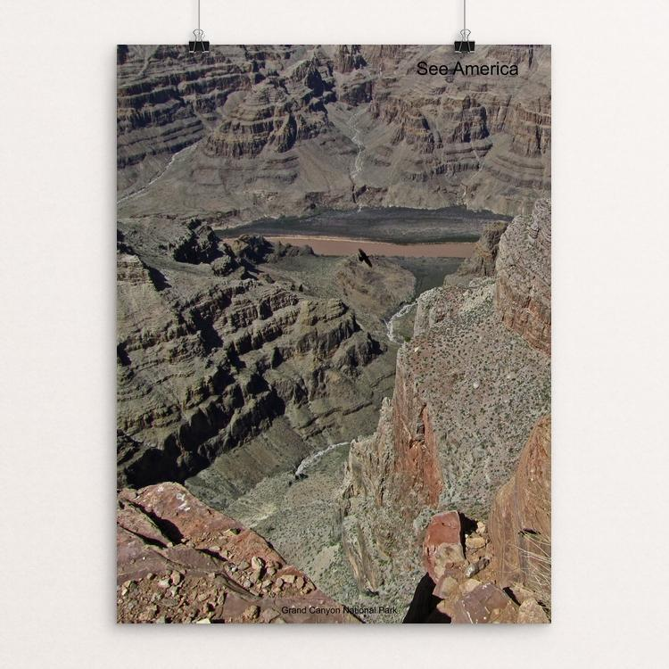 "Grand Canyon National Park by Mac Titmus 12"" by 16"" Print / Unframed Print See America"
