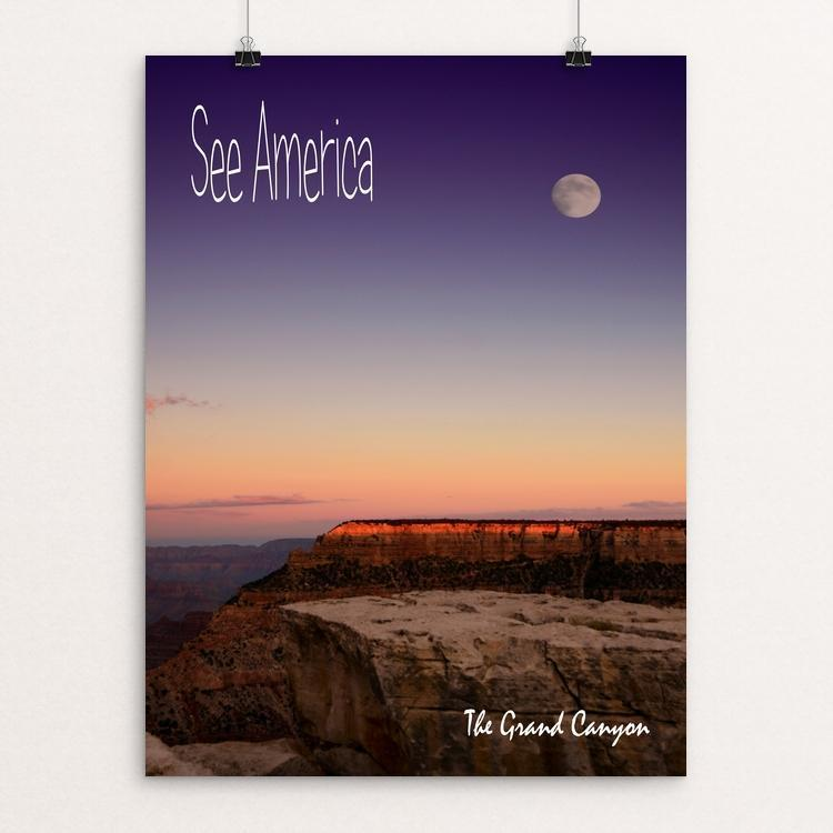 "Grand Canyon National Park by Teresa Williams 12"" by 16"" Print / Unframed Print See America"
