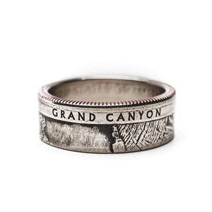 Grand Canyon National Park Coin Ring Ring See America