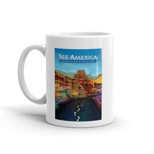 Grand Canyon National Park Mug by Mayanglambam Dinesh Singh 11oz Mug See America