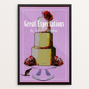 "Great Expectations 1 by Bob Rubin 12"" by 18"" Print / Framed Print Recovering the Classics"