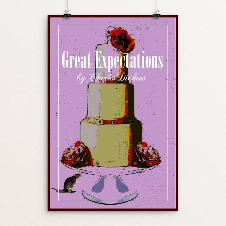 "Great Expectations 1 by Bob Rubin 12"" by 18"" Print / Unframed Print Recovering the Classics"