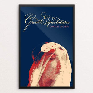 "Great Expectations by Bob Rubin 12"" by 18"" Print / Framed Print Recovering the Classics"