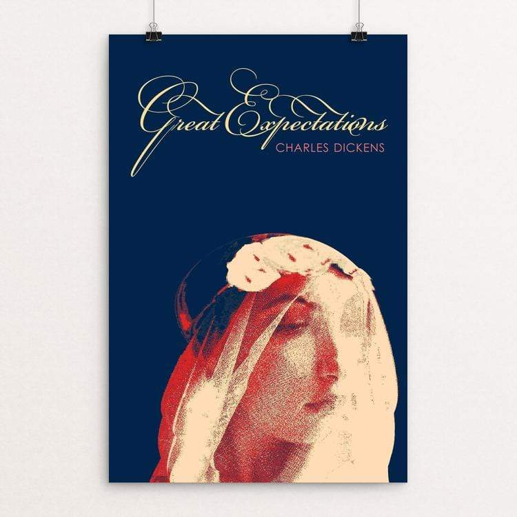 "Great Expectations by Bob Rubin 12"" by 18"" Print / Unframed Print Recovering the Classics"