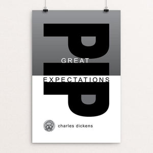"Great Expectations by Robert Wallman 12"" by 18"" Print / Unframed Print Recovering the Classics"