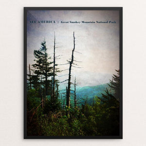 "Great Smokey Mountain National Park 1 by Bryan Bromstrup 18"" by 24"" Print / Framed Print See America"