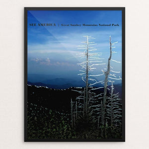 "Great Smokey Mountain National Park 2 by Bryan Bromstrup 18"" by 24"" Print / Framed Print See America"