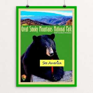 "Great Smoky Mountains National Park by Bob Rubin 18"" by 24"" Print / Unframed Print See America"