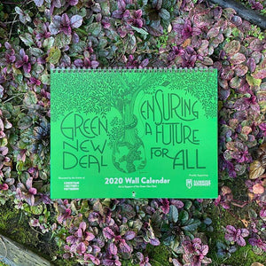 Green New Deal 2020 Wall Calendar Calendar Green New Deal