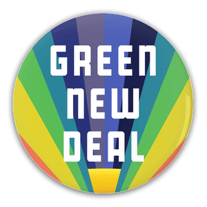 Green New Deal Button Pack 2 4 Pack Buttons Green New Deal