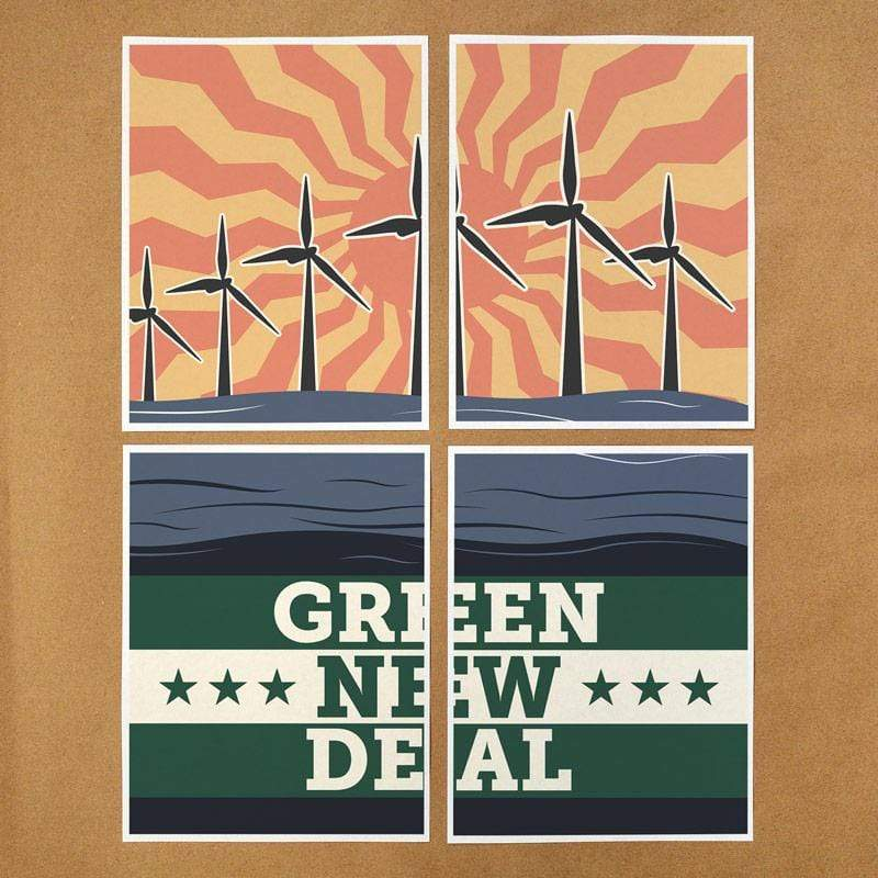 Green New Deal Download & Print-at-Home Protest Posters 4