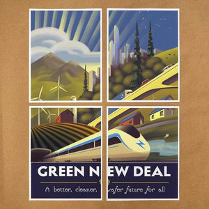 Green New Deal Download & Print-at-Home Protest Posters 4 PDF Document Print-at-Home Protest Posters Green New Deal