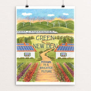 Green New Deal ~ Pathway to a Brighter Future by Elizabeth Kennen