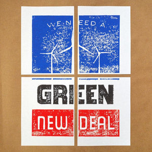 Green New Deal Download & Print-at-Home Protest Posters 2