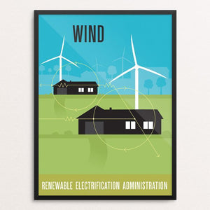 Green Patriot Wind by Eric Benson
