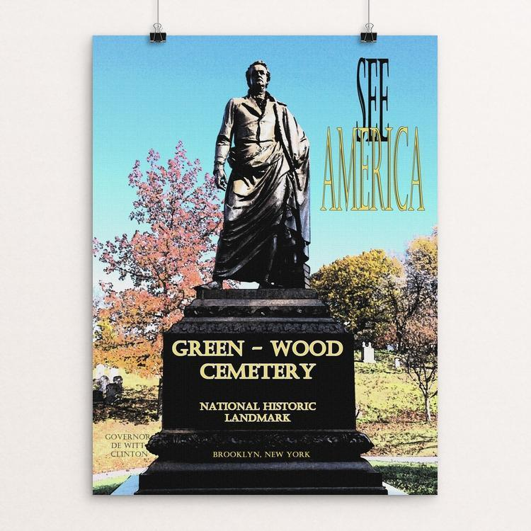 Green-Wood Cemetery National Historic Landmark by John Lincoln Hallowell