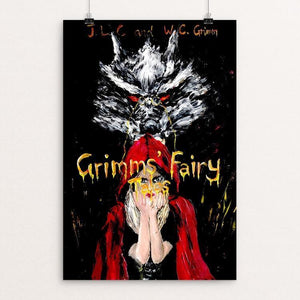 "Grimm's Fairy Tales by Boyuan Han 12"" by 18"" Print / Unframed Print Recovering the Classics"