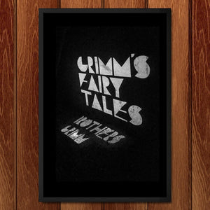 "Grimm's Fairy Tales by Coral Nafziger 12"" by 18"" Print / Framed Print Recovering the Classics"