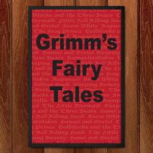 "Grimm'S Fairy Tales by Kourtney Erickson 12"" by 18"" Print / Framed Print Recovering the Classics"