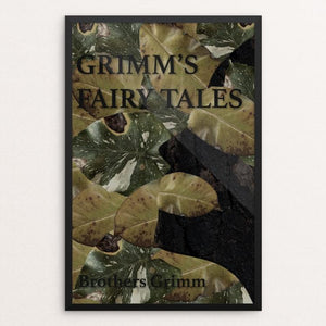 "Grimm's Fairy Tales by Mercedes Apodaca 12"" by 18"" Print / Framed Print Recovering the Classics"