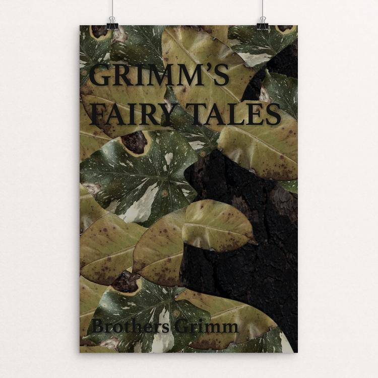 "Grimm's Fairy Tales by Mercedes Apodaca 12"" by 18"" Print / Unframed Print Recovering the Classics"