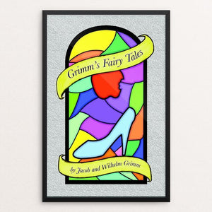 "Grimm's Fairy Tales by Teresa Lleras 12"" by 18"" Print / Framed Print Recovering the Classics"