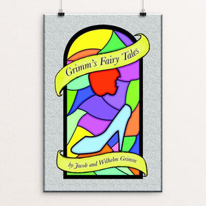 "Grimm's Fairy Tales by Teresa Lleras 12"" by 18"" Print / Unframed Print Recovering the Classics"