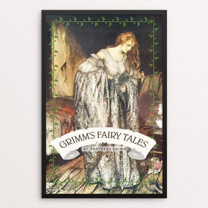 "Grimm's Fairy Tales by Vivian Chang 12"" by 18"" Print / Framed Print Recovering the Classics"