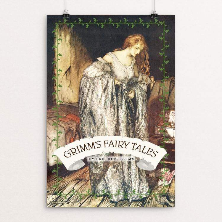 "Grimm's Fairy Tales by Vivian Chang 12"" by 18"" Print / Unframed Print Recovering the Classics"