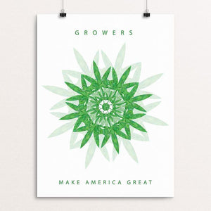 "Growers by Holly Savas 12"" by 16"" Print / Unframed Print What Makes America Great"