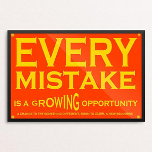 "Growing Opportunity by Atabey Sanchez-Haiman 12"" by 18"" Print / Framed Print Power to the Poster"