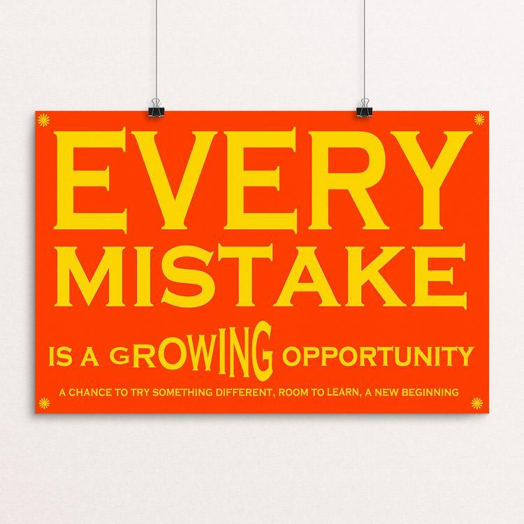 "Growing Opportunity by Atabey Sanchez-Haiman 12"" by 18"" Print / Unframed Print Power to the Poster"