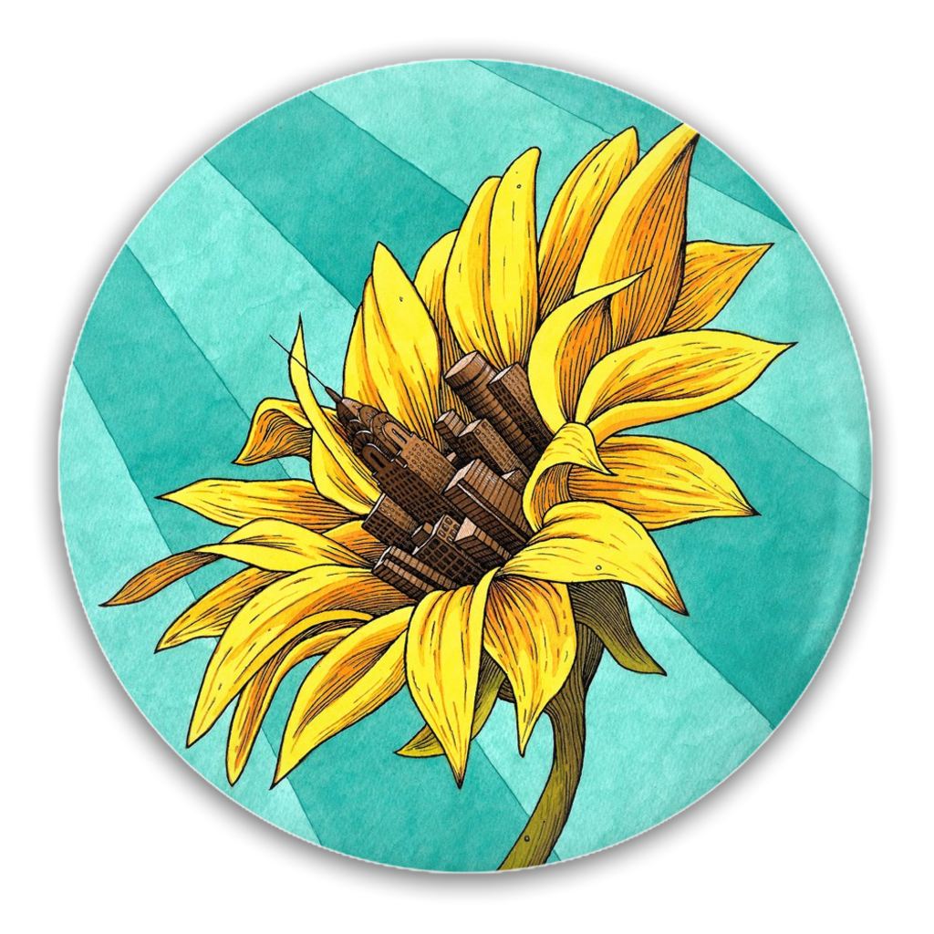 Growing Together Button by James McInvale