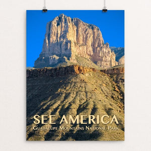 "Guadalupe Mountains National Park by Zack Frank 12"" by 16"" Print / Unframed Print See America"
